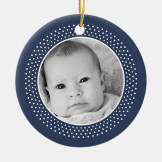 Christmas /Christian: Double-Sided Photo Christmas Ornament