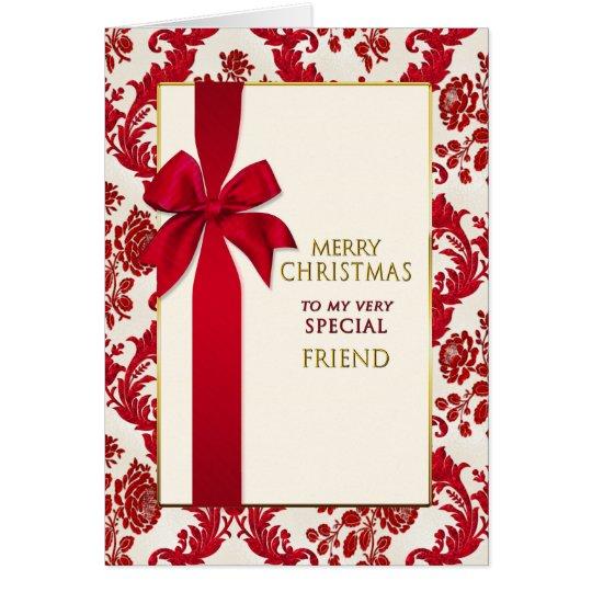 Christmas- Christian - Greatest Gift - Ribbon Card