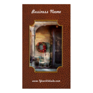 Christmas - Christmas is right around the corner Pack Of Standard Business Cards