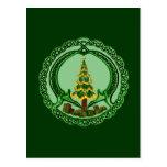 Christmas Claddagh Post Cards