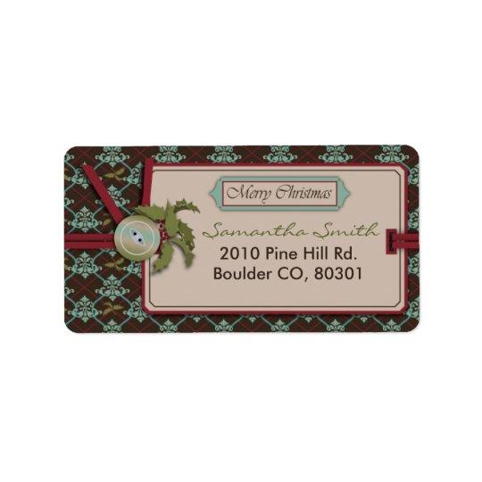 Christmas Classic Address Label