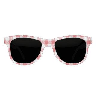 Christmas classic Buffalo check plaid pattern Sunglasses