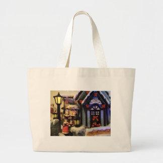 Christmas Classic  Streets Canvas Bag