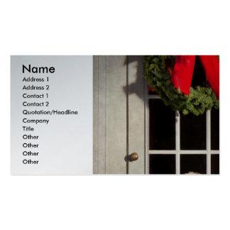 Christmas - Clinton, NJ - Christmas puppy Business Card Templates