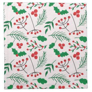 Christmas Cloth Napkins  - Christmas Joy