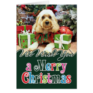 Christmas - Cockapoo - Buddy Card