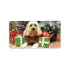 Christmas - Cockapoo - Buddy Label