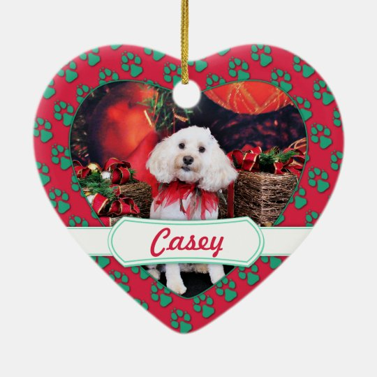 Christmas - Cockapoo - Casey Christmas Ornament