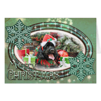Christmas - Cockapoo - Jack Card