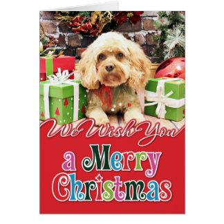 Christmas - Cockapoo - Morgan Card
