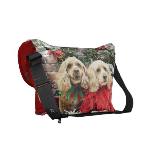 Christmas - Cockapoo - Sugar and Spice Commuter Bag