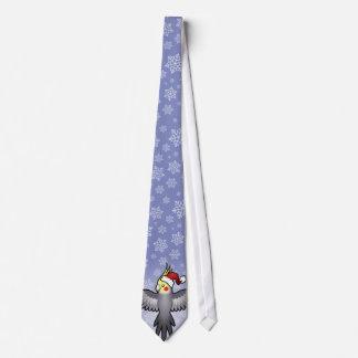 Christmas Cockatiel Tie