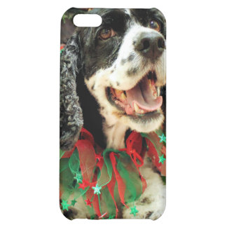 Christmas - Cocker Spaniel - Bud iPhone 5C Cases