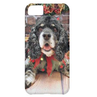 Christmas - Cocker Spaniel - Harley iPhone 5C Cover