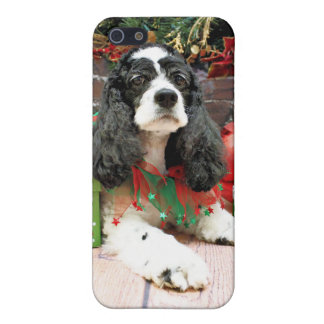 Christmas - Cocker Spaniel - Laci Case For iPhone 5