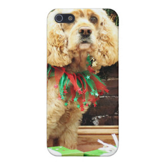 Christmas - Cocker Spaniel - Maggie iPhone 5 Case