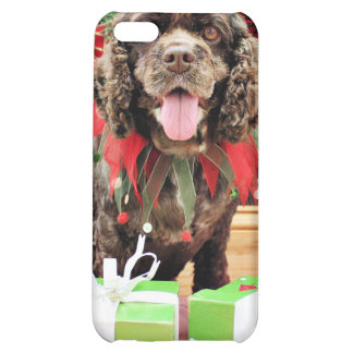 Christmas - Cocker Spaniel - Murphy iPhone 5C Covers