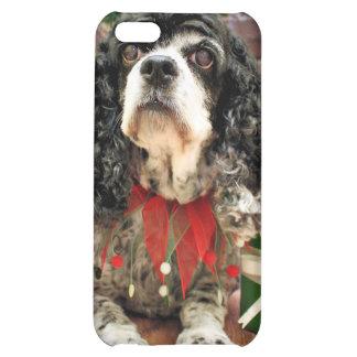 Christmas - Cocker Spaniel - Socks iPhone 5C Case