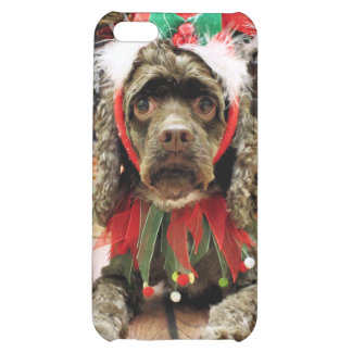 Christmas - Cocker Spaniel - Zoe iPhone 5C Covers