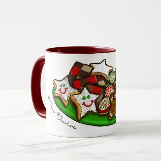 CHRISTMAS COFFEE MUG, CHRISTMAS COOKIES MUG