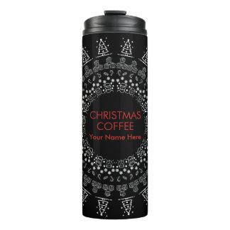 Christmas Coffee Thermal Tumbler