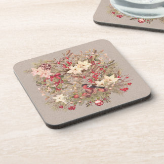 Christmas Collage Coasters (set of 6)