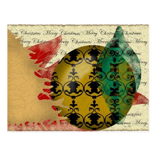 Christmas-collage Postcard