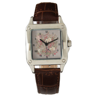Christmas Collage Square Watch