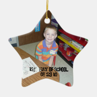 Christmas Collection Add Photo Text? Ceramic Star Decoration