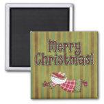 Christmas Collection Santa Angel Fridge Magnet