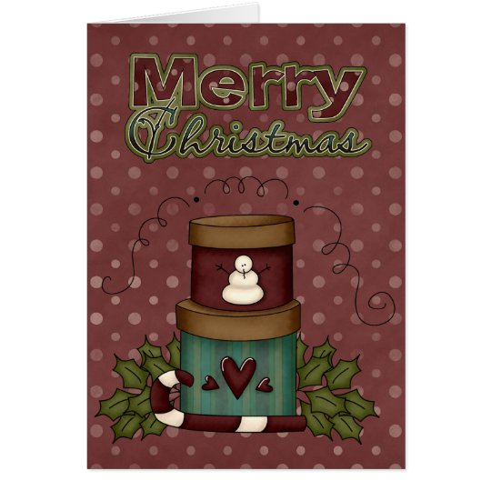 Christmas Collection Xmas Boxes Greeting Card