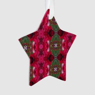 Christmas Colors Kaleidoscope Ornament