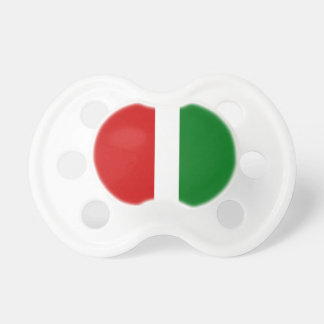 Christmas Colors Stripe Pattern Pacifiers