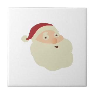 Christmas Concept: Santa's Merry Christmas Wish wi Ceramic Tile