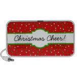 Christmas Confetti •  Red Hot Cinnamon Sprinkles Mini Speaker