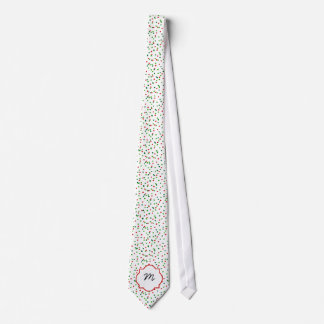 Christmas Confetti •  Royal Icing Sprinkles Necktie
