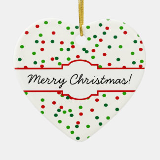 Christmas Confetti • Sugar Cookie Sprinkles Christmas Ornament