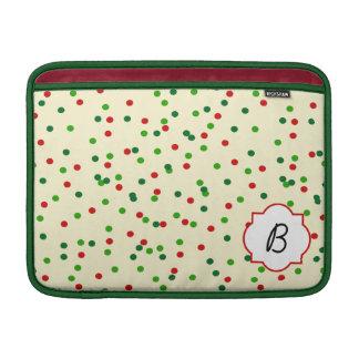 Christmas Confetti • Sugar Cookie Sprinkles MacBook Air Sleeves