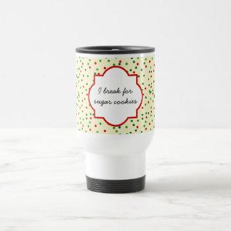 Christmas Confetti • Sugar Cookie Sprinkles Coffee Mug