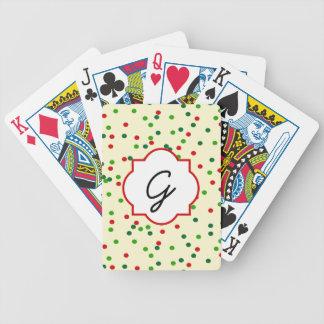Christmas Confetti • Sugar Cookie Sprinkles Card Decks