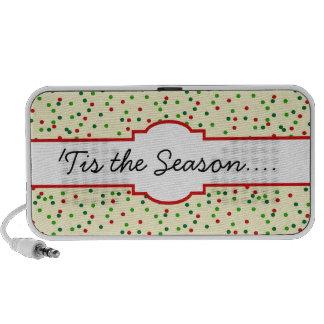 Christmas Confetti • Sugar Cookie Sprinkles Laptop Speakers