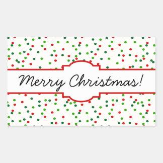 Christmas Confetti • Sugar Cookie Sprinkles Sticker