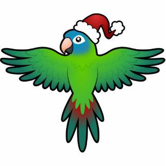 Christmas Conure / Lorikeet / Parrot Photo Sculpture Decoration