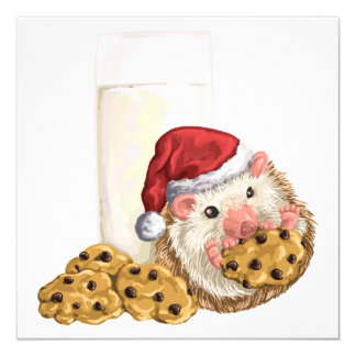 Christmas Cookie Hog Card