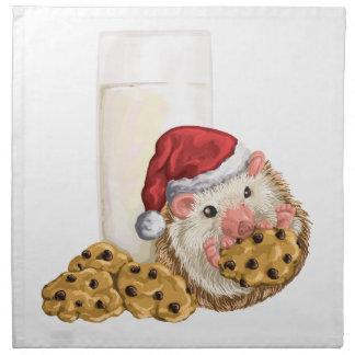 Christmas Cookie Hog Cloth Napkin