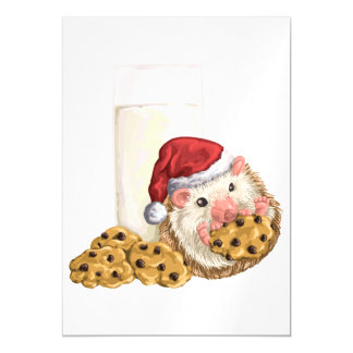 Christmas Cookie Hog Magnetic Card