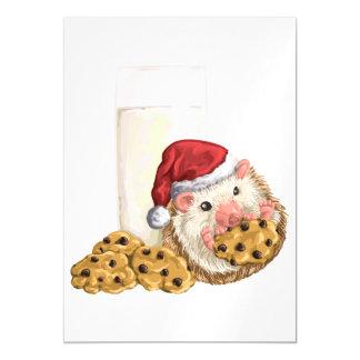 Christmas Cookie Hog Magnetic Invitations