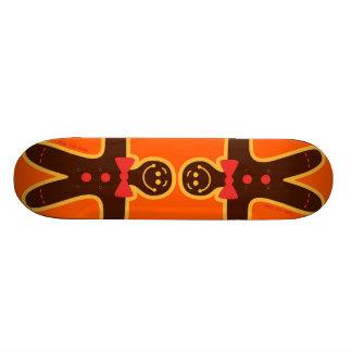 Christmas Cookie Man Custom Skateboard