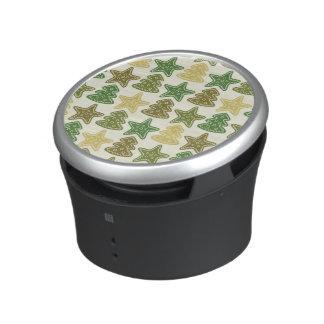 Christmas cookie pattern speaker
