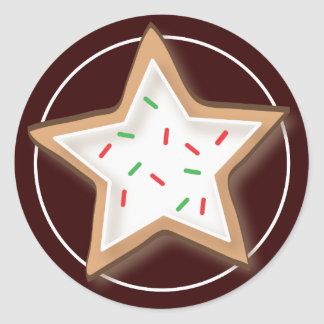 Christmas Cookie Yummy Stickers